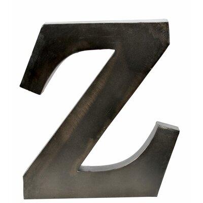Metal Letter Blocks Letter: Z