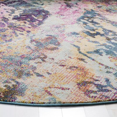 Mcintosh Contemporary Blue/Purple Area Rug� Rug Size: Rectangle 9 x 12