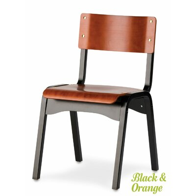 Carlo Armless Stacking Chair Finish: Natural