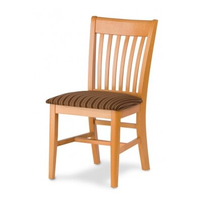 Henry Solid Wood Dining Chair Finish: Black
