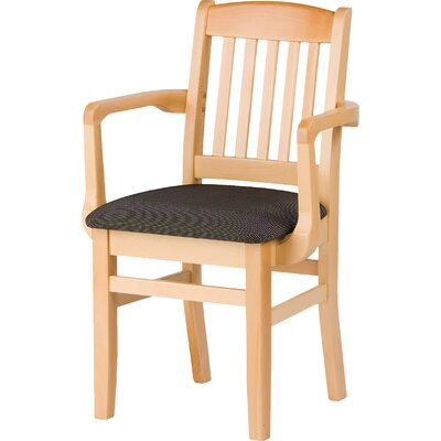 Bulldog Arm Chair Finish: Chestnut