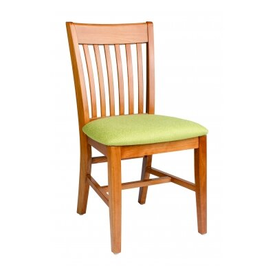 Henry Solid Wood Dining Chair Finish: Turquoise
