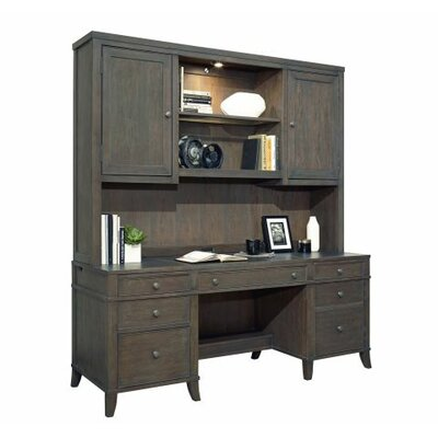 Home Office Executive 51.5 H x 72 W Desk Hutch