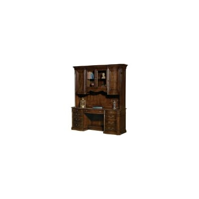 Old World Executive 54 H x 75 W Desk Hutch