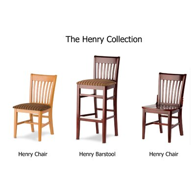 Henry Bar Stool with Cushion