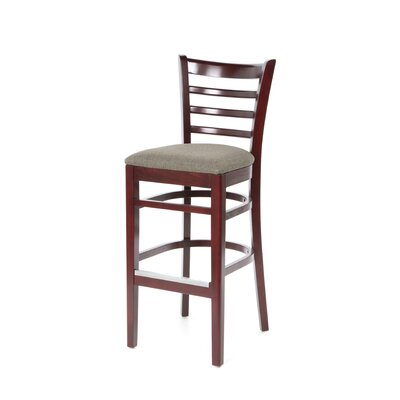 Carole Bar Stool with Cushion