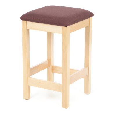 Bulldog Bar Stool with Cushion