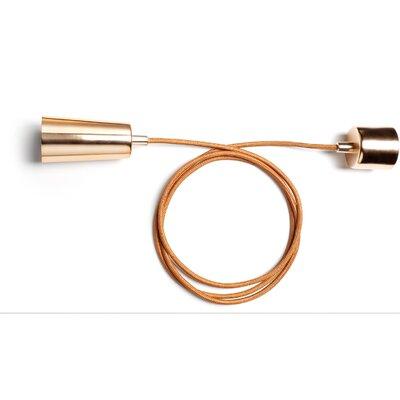 Plumen 1 Light Mini Pendant Finish: Copper