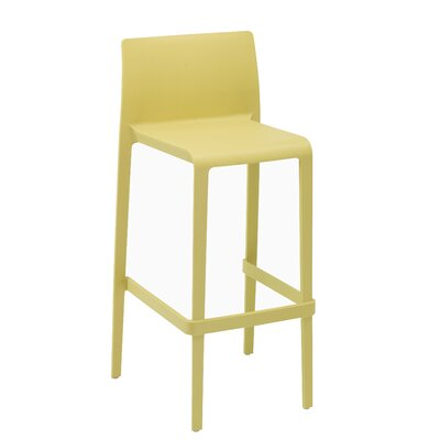 Volt 30 Bar Stool Upholstery: Yellow