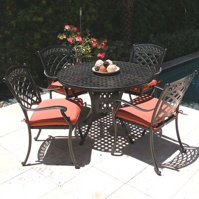 ComfortCare 5 Piece Outdoor Dining Set