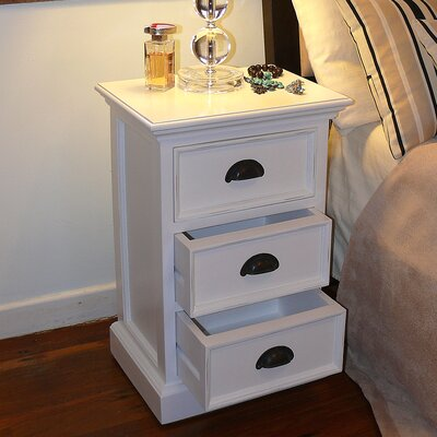 In store financing Halifax 3 Drawer Nightstand...