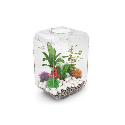 4 Gallon Life Aquarium Tank Color: Clear
