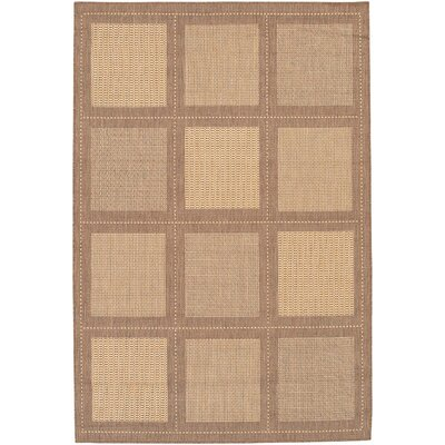 Westlund Natural/Beige Area Rug Rug Size: Rectangle 39 x 55