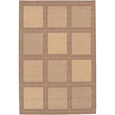 Westlund Natural/Beige Area Rug Rug Size: Rectangle 86 x 13