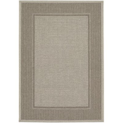 Couristan Tides Astoria Cocoa/Beige Indoor/Outdoor Rug - Rug Size: 7'10