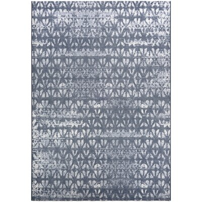 Aquinnah Woven Gray/Ivory Area Rug Rug Size: Rectangle 53 x 76