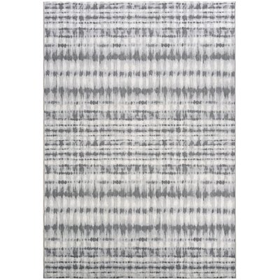 Aquinnah Woven Gray Area Rug Rug Size: Rectangle 53 x 76