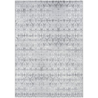 Aquinnah Woven Pearl/Champagne Area Rug Rug Size: Rectangle 92 x 129