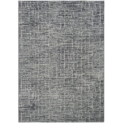 Andover Woven Pewter Area Rug Rug Size: Rectangle 92 x 125