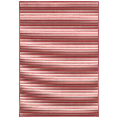 Couristan Berkshire Potomac Red Indoor/Outdoor Rug - Rug Size: 5'10