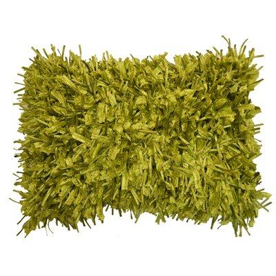 Alexandra Lumbar Pillow Color: Lime