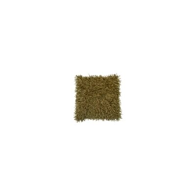 Lacy Throw Pillow Color: Gold