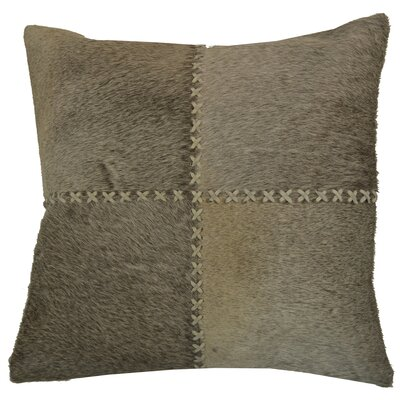 Levi Throw Pillow Color: Gray