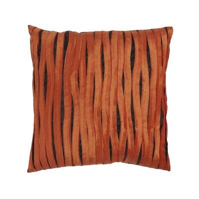 Accent Linen Throw Pillow Color: Orange