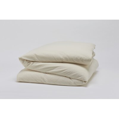 Cloud Brushed Flannel Duvet Cover Size: Full / Queen