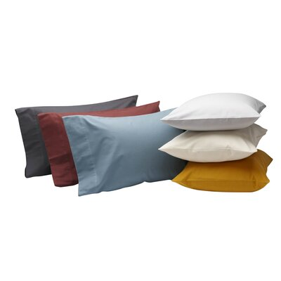 Cloud Brushed Flannel Pillow Case Size: Standard / Queen, Color: Ivory