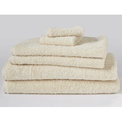 Cloud Loom 6 Piece Towel Set Color: Natural