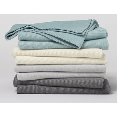 Carmel Washable Blanket Color: Mid Gray