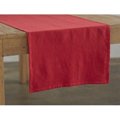 Farmhouse Runner Color: Crimson