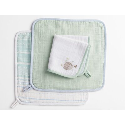 Muslin Wash Cloth Color: Hedgehog