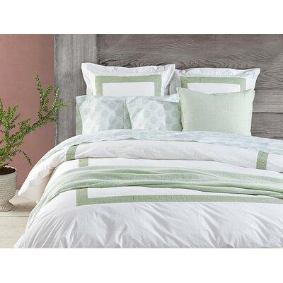 Larkspur Linen Throw Color: Sage