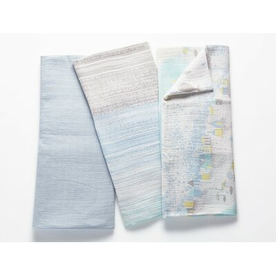 Muslin Swaddle Cotton Blanket Color: Glacier