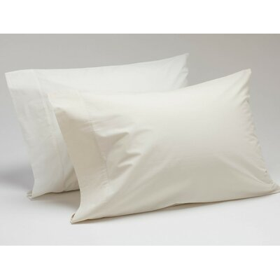 Percale 300 Thread Count Cotton Sheet Set Size: Twin, Color: Natural