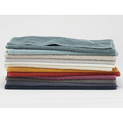 Air Weight Guest Towel Color: Fog