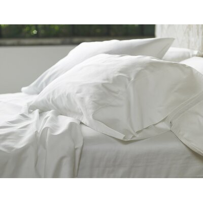 Sateen 300 Thread Count Cotton Sheet Set Size: Full, Color: Alpine White