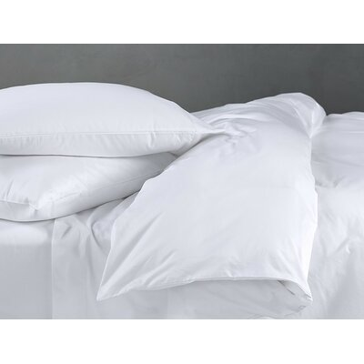 Sateen Pillowcase Size: Standard/Queen, Color: Alpine White