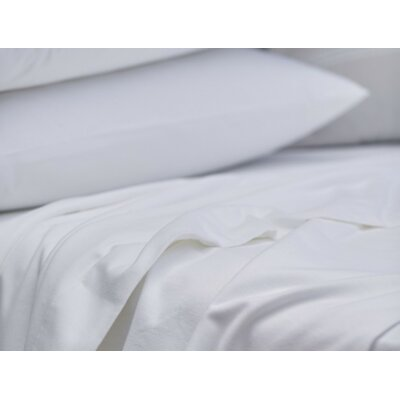 Cloud Brushed Flannel Pillow Case Size: King