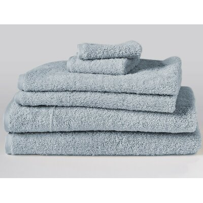 Cloud Loom 6 Piece Towel Set Color: Palest Ocean