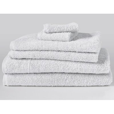 Cloud Loom 6 Piece Towel Set Color: Alpine White