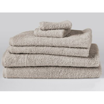 Cloud Loom 6 Piece Towel Set Color: Dune
