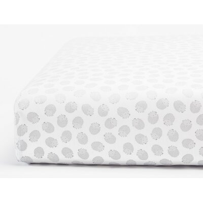 Hedgehog Printed Cotton Sheet Set