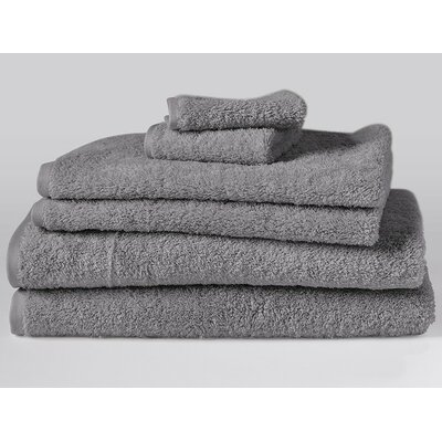 Cloud Loom 6 Piece Towel Set Color: Slate
