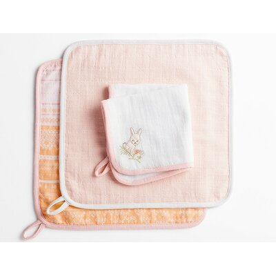 Muslin Washcloth Color: Bunny