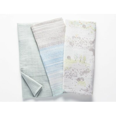 Muslin Swaddle Cotton Blanket Color: Hedgehog