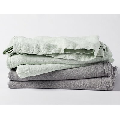 Larkspur Linen Coverlet Collection