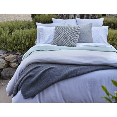 Mediterranean Duvet Cover Size: Full/Queen, Color: Alpine White